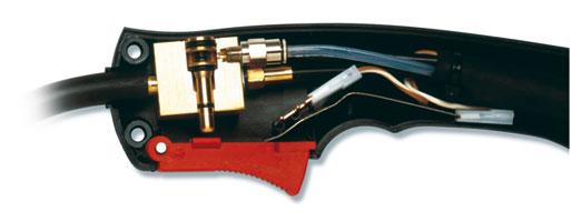 Горелка для сварочного полуавтомата своими руками